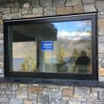 Black Server Awning Window